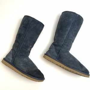 UGG Australia Classic Tall Navy Boots Size 7